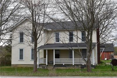 Pierpont Single Family Home For Sale: 1080 State Route 7