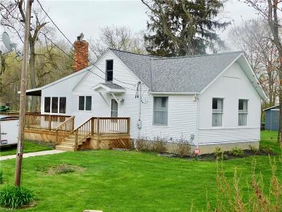 Huron County Single Family Home For Sale: 1961 Chenango Rd