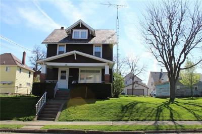 Alliance OH Single Family Home For Sale: $52,000