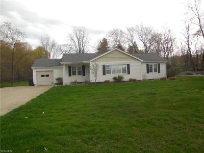 Solon Single Family Home Active Under Contract: 7061 Som Center Road