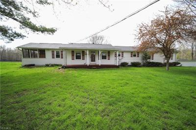 Leroy Single Family Home Active Under Contract: 6062 Trask Road