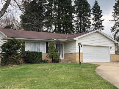 Solon Single Family Home For Sale: 34000 W Sharondale Drive