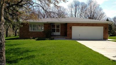 Broadview Heights Single Family Home Contingent: 8173 Twin Oaks Dr