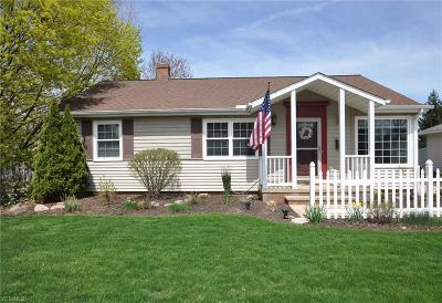 Rocky River Single Family Home Contingent: 20390 Marian Ln