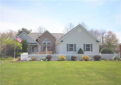 Avon Single Family Home Active Under Contract: 1881 Center Road