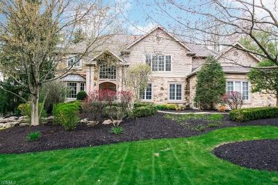 Chagrin Falls Single Family Home Contingent: 17442 Lakesedge Trl
