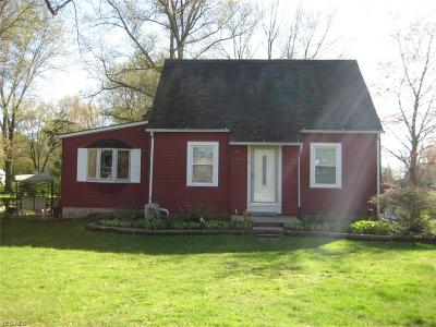 Elyria Single Family Home For Sale: 1917 Grafton Road