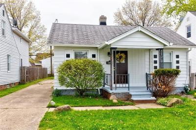 Wickliffe Single Family Home Active Under Contract: 29128 Weber Avenue