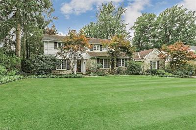 Shaker Heights Single Family Home For Sale: 23850 Stanford Rd