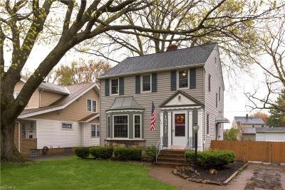 Cleveland OH Single Family Home Contingent: $165,000