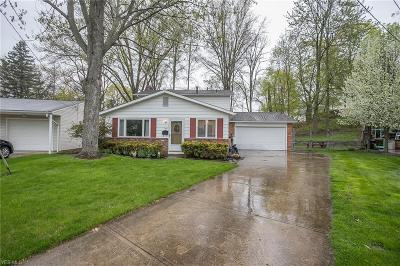 Elyria Single Family Home Active Under Contract: 168 Pinewood Drive