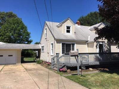 Willoughby Single Family Home For Sale: 3802 E 364th Street