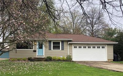 Rocky River Single Family Home Contingent: 4141 Spencer