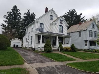 Elyria Single Family Home Active Under Contract: 118 Glendale Court