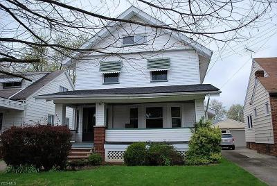 Cleveland OH Single Family Home Contingent: $145,000