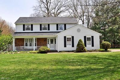 Avon Lake Single Family Home Active Under Contract: 32355 Stoney Brook Drive