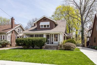 Fairview Park Single Family Home Active Under Contract: 4291 W 196th Street