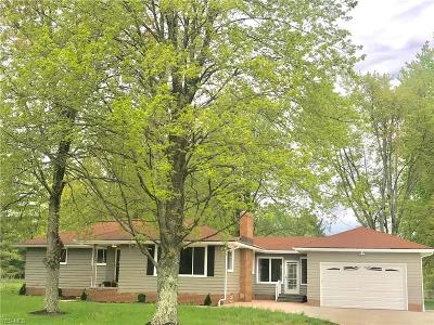 Broadview Heights Single Family Home For Sale: 2566 Akins Rd