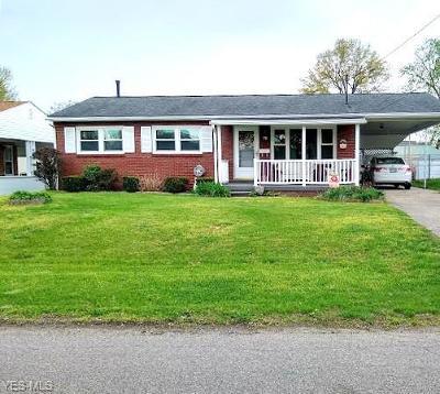 Belpre Single Family Home For Sale: 711 Talbot Street