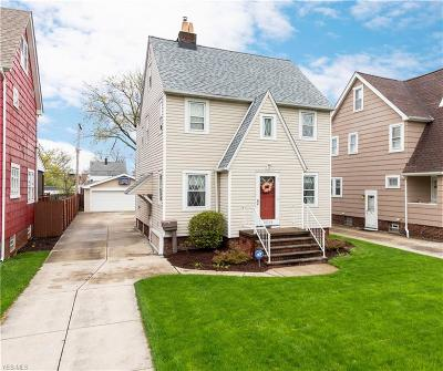 Cleveland OH Single Family Home Contingent: $159,000