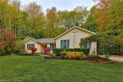 Chagrin Falls Single Family Home Contingent: 17212 Wood Acre Trl