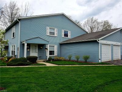 Reminderville Condo/Townhouse Active Under Contract: 3405 Beaver Trail #B