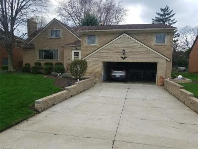 Rocky River Single Family Home Contingent: 2810 Gibson Dr