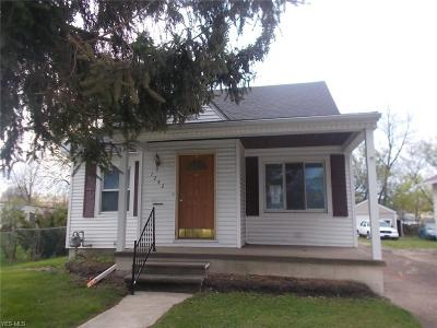 Lorain County Single Family Home Contingent: 1242 West 17th St