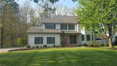 Macedonia Single Family Home Active Under Contract: 1124 Park Ledge Drive