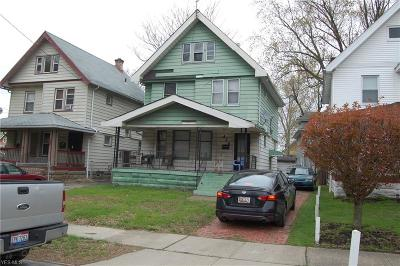 Cleveland Single Family Home For Sale: 459 E 108th Street