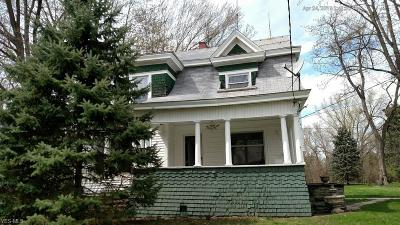 Lorain Single Family Home Active Under Contract: 44400 Middle Ridge Road