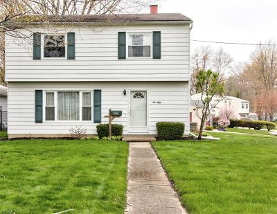 Painesville OH Single Family Home Contingent: $109,900