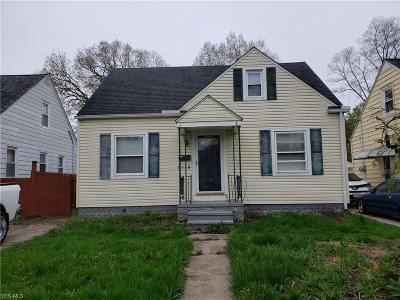 Lorain County Single Family Home Contingent: 3178 Lincoln St