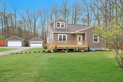 Concord Single Family Home For Sale: 12422 Painesville Warren Road