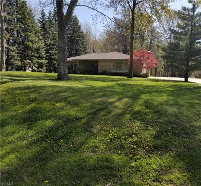 Brecksville Single Family Home Contingent: 9667 Barr Rd