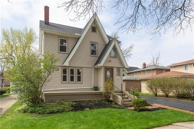 Single Family Home Contingent: 14627 Birchwood Ave