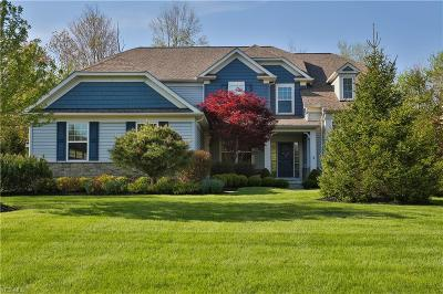 Chagrin Falls Single Family Home Active Under Contract: 7620 Cottonwood Trail