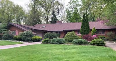 Fairview Park Single Family Home For Sale: 3888 North Valley Dr