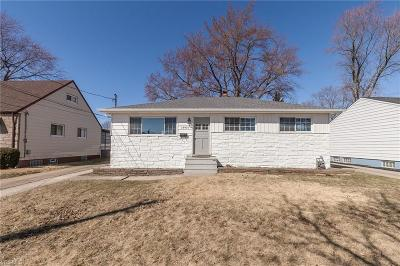 Single Family Home Contingent: 18410 Merece Dr