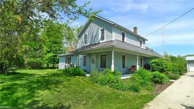 Medina Single Family Home For Sale: 8109 Spencer Lake Rd