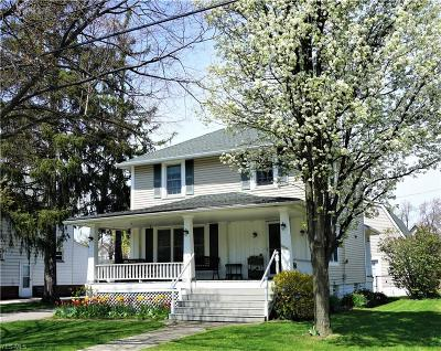 Cleveland OH Single Family Home For Sale: $189,900