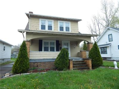 Lorain Single Family Home Active Under Contract: 722 W 21st Street