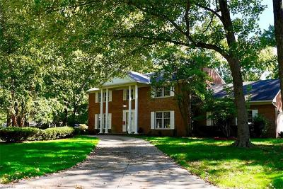 Fairview Park Single Family Home For Sale: 4611 Concord Dr