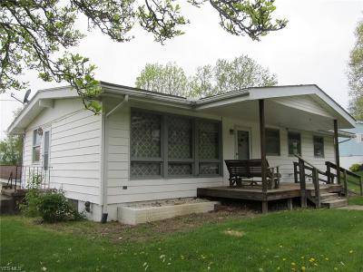 Guernsey County Single Family Home Contingent: 501 Avon Dr