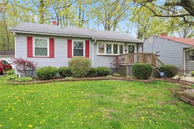 Austintown Single Family Home Active Under Contract: 89 Kleber Avenue