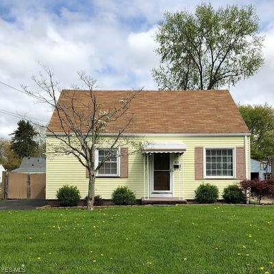 Boardman OH Single Family Home Contingent: $74,900