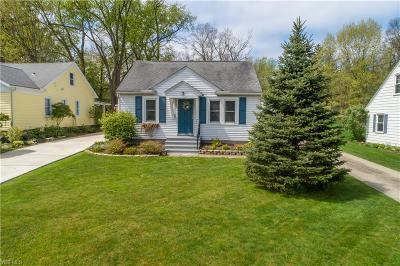 Twinsburg Single Family Home Contingent: 9066 Charles Ct