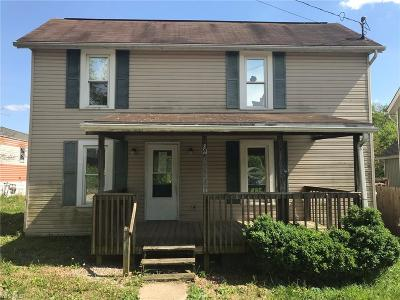 Zanesville Single Family Home For Sale: 124 Union St