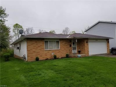 Cleveland Single Family Home For Sale: 13526 Sherwood Circle