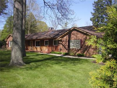 Mentor Single Family Home For Sale: 7231 Chillicothe Road